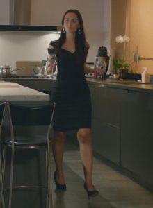 nazli siyah elbise siyah elbise