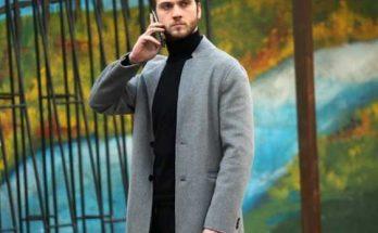 yamac gri uzun ceket