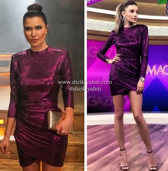 4c84a4ffa911e Yasak Elma 4.bölüm Enderin elbisesi Alya Nihan Koyunpinar tasarımı.