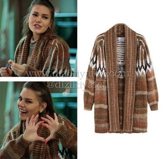 d24b78b0f4009 İstanbullu gelin dizisinde Süreyya'nın giydiği hırka çok soruldu fakat yeni  buldum onuda buraya ekleyelim. Hırka Mango fiyatı ise 300tl